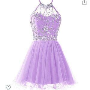 Dresses & Skirts - Lavender Halter prom dress